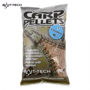 Bait-Tech Fishmeal Carp feed pellets 2 kg micro etetőpellet