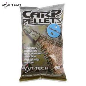 Bait-Tech Fishmeal Carp feed pellets 2 kg micro etetőpellet