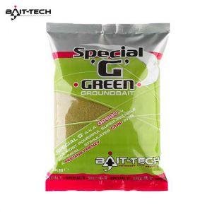 Bait-Tech Special G Green Groundbaits 1kg - etetőanyag