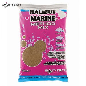 Bait-Tech Halibut Marine Method Mix 2kg - etetőanyag