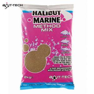Bait-Tech Halibut Marine Method Mix 2kg - etetőanyag