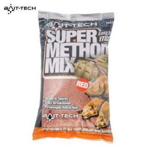 Bait-Tech Super Method Mix Red 1kg - etetőanyag