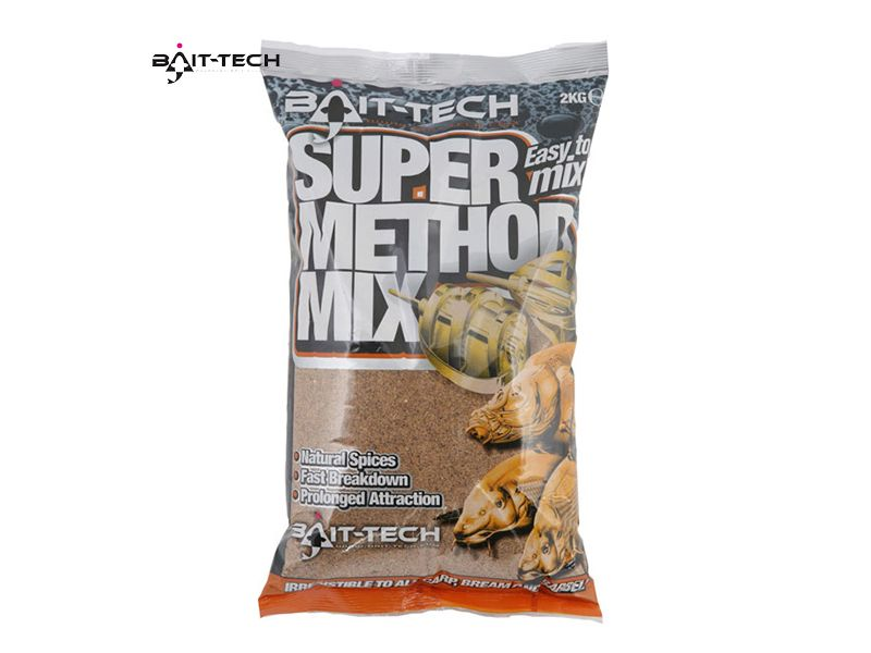 Bait-Tech Super Method Mix 1kg - etetőanyag