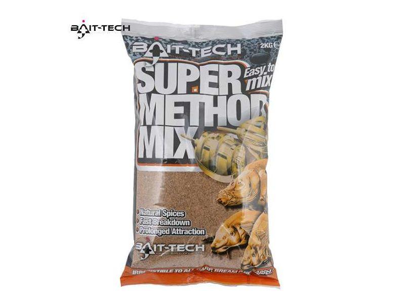 Bait-Tech Super Method Mix 1kg - etetőanyag