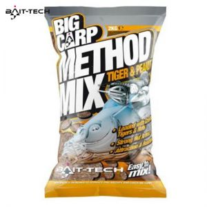 Bait-Tech Big Carp method mix Tiger & Peanut 2kg