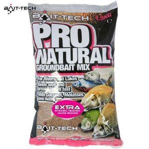 Bait-Tech Pro Natural Extra etetőanyag 1,5kg