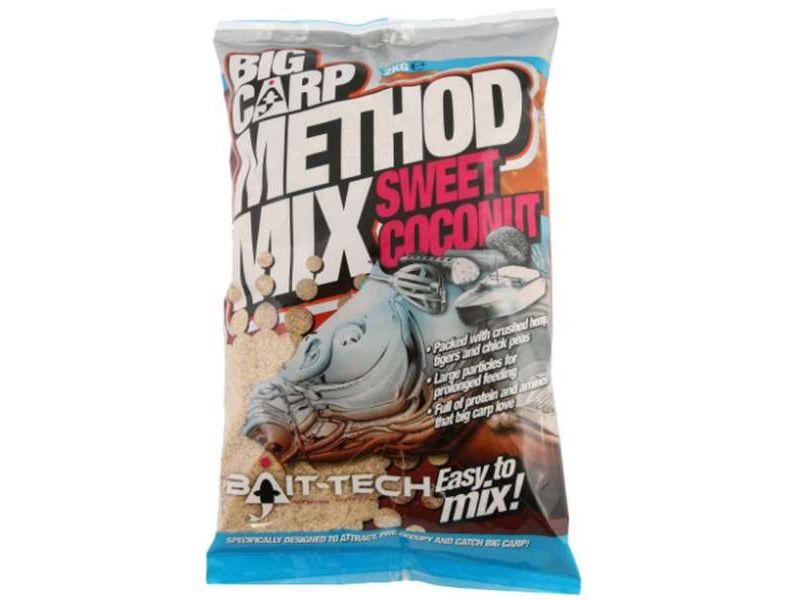 Bait-Tech Big Carp Method Mix Sweet Coconut 2kg
