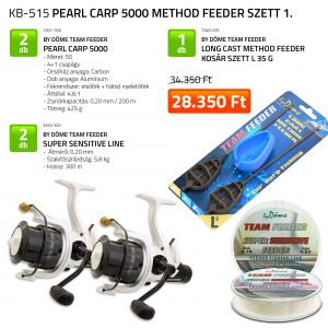 Pearl Carp 5000 Method Feeder szett KB-515