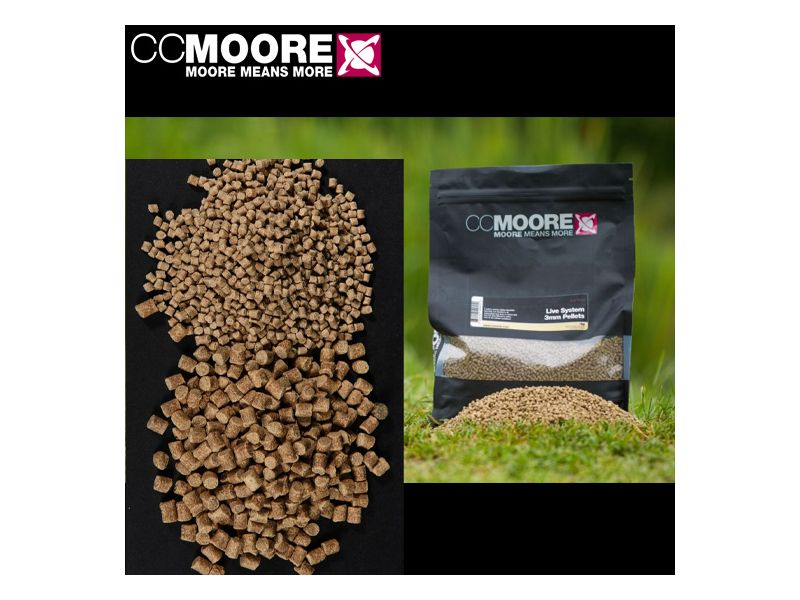 CC Moore Live System Pellet 1kg