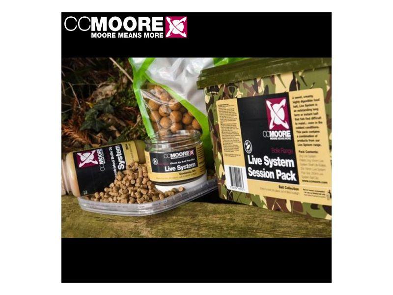 CC Moore Live System Session Pack 2,5kg (Bojli, Pellet, Pop-