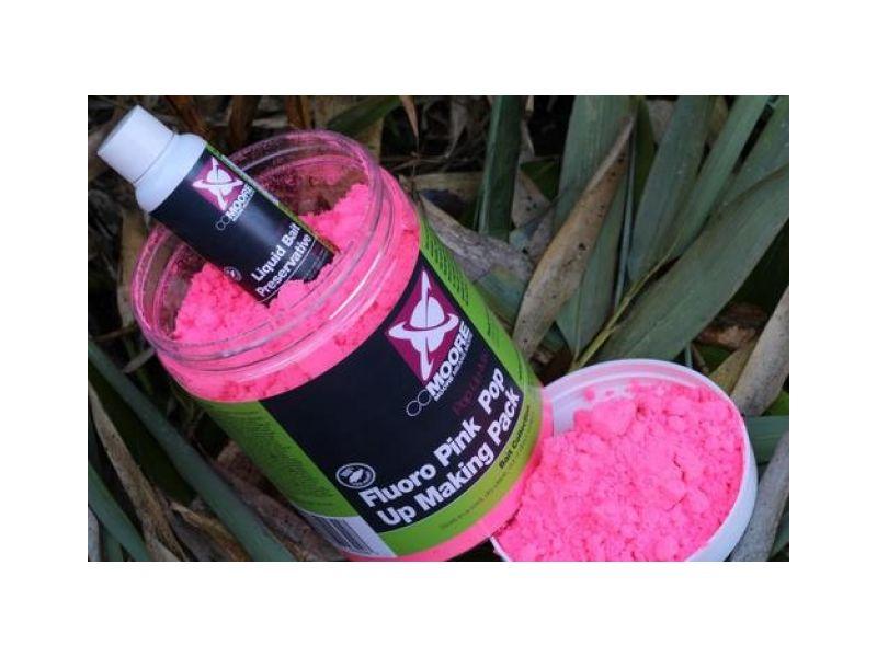 CC Moore Fluoro Pink Pop-up Mix - lebegő bojli alapmix