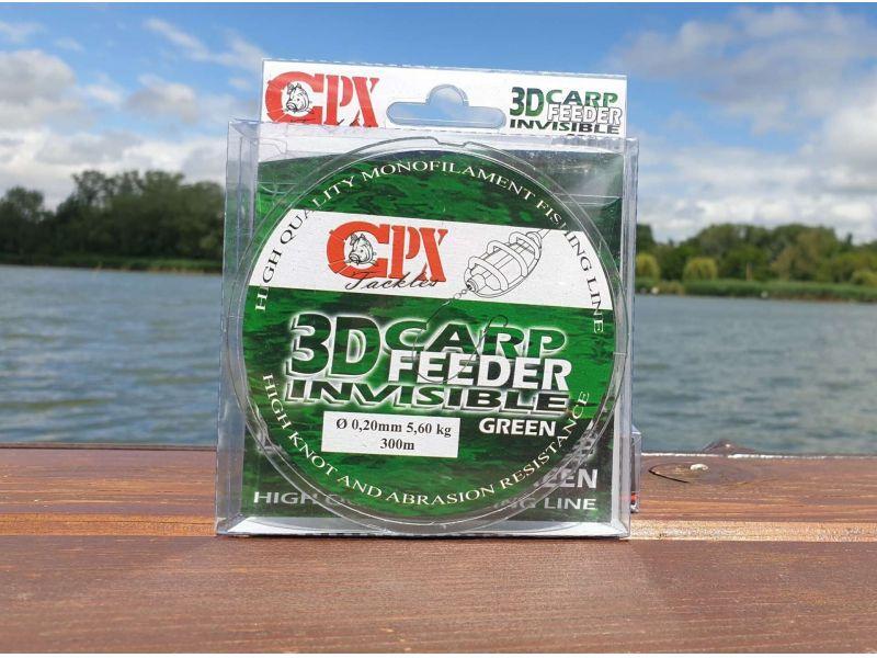 CPX 3D Carp Feeder Invisible horgász zsinór 300m