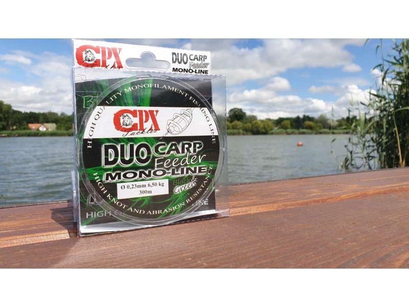 CPX Duo Carp Feeder Black&Green 300m Mono Line zsinór