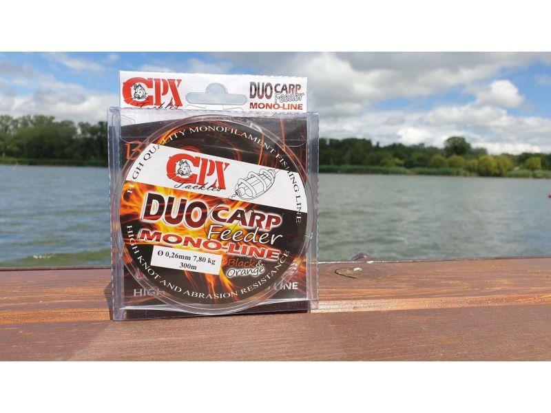 CPX Duo Carp Feeder Black&Orange 300m Mono Line zsinór