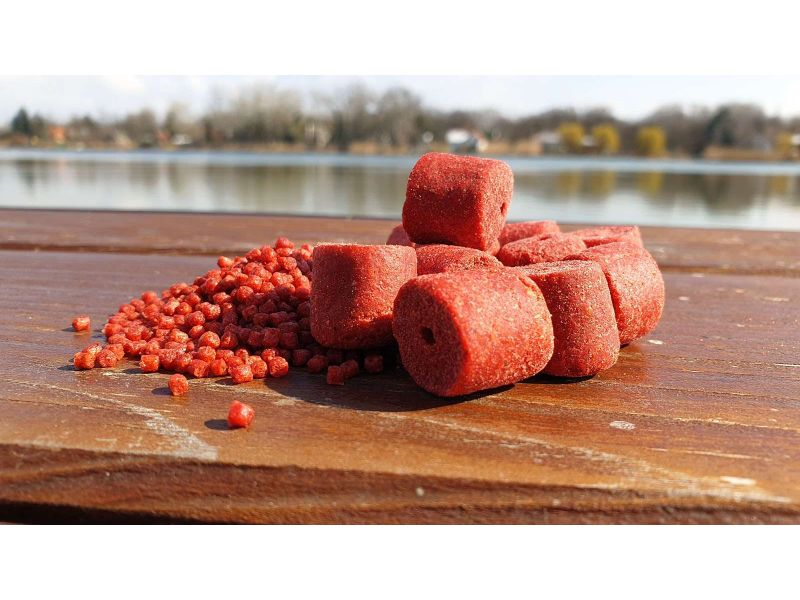 CPX PELLET - STRAWBERRY-FISH - 2mm - 3kg