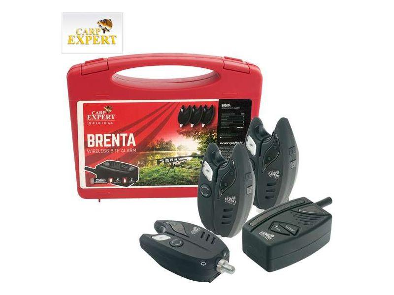 Carp Expert Brenta rádiós kapásjelző szett