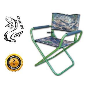 Carp F11 Karfás horgász szék terep szín