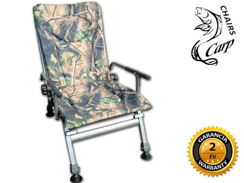 Carp F5R Karfás horgász szék terep szín