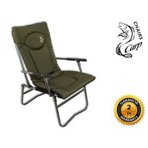 Carp F7R Karfás horgász fotel - zöld