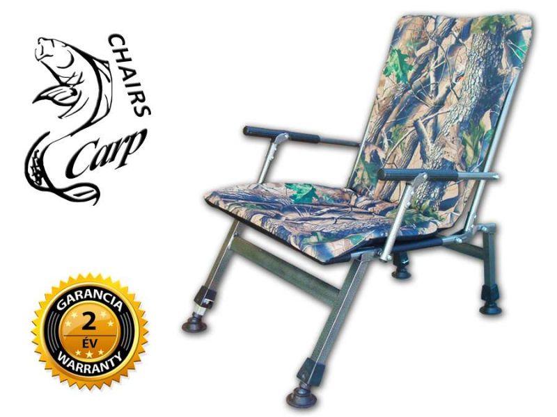 Carp F8R Karfás terep horgász szék