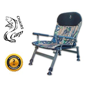 Carp FK5 Karfás horgász fotel - terep szín