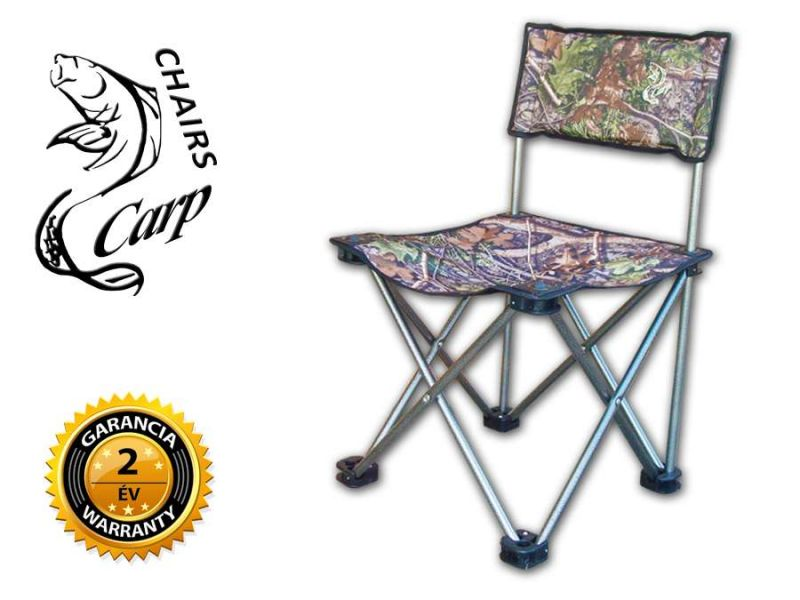 Carp KW2 horgász szék - hardwoods terep