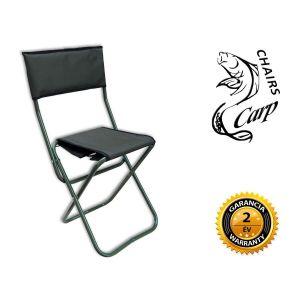 Carp WP5 ZO tábori szék háttámlával - zöld
