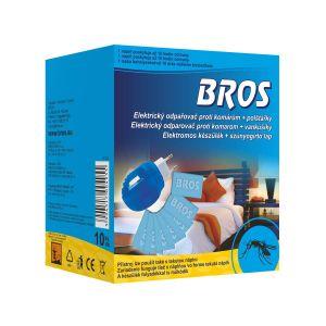 BROS Elektromos készülék+ 10db szúnyogirtó lap