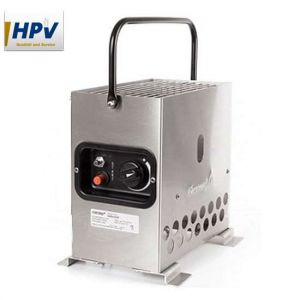 HPV sátorfűtés Heatbox 2000 2KW - Inox