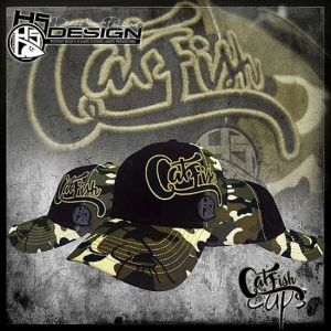 Hotspot Design Cap Catfish - Baseball Sapka