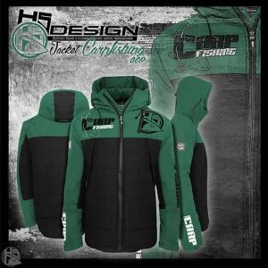 Hotspot Design - Jacket zipped CARPFISHING ECO - kabát
