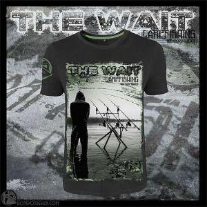 Hotspot Design - T-Shirt - The Wait - környakú póló