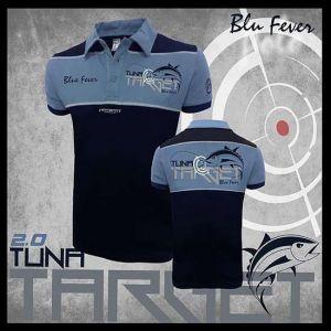 Hotspot Design - Galléros Póló - Kék/Sötétkék - Tuna Target