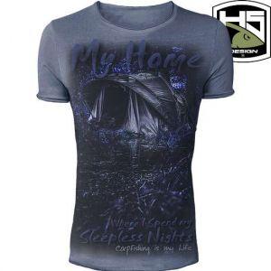 Hotspot Design - T-Shirt - My Home - környakú póló