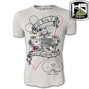 Hotspot Design - T-SHIRT - környakú póló - THE KING OF CARPF