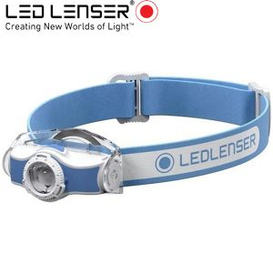 Led Lenser MH3 outdoor LED fejlámpa kék