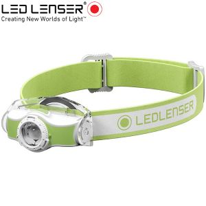 Led Lenser MH3 outdoor LED fejlámpa zöld
