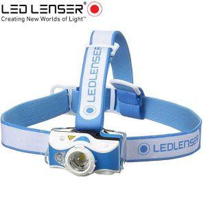 Led Lenser MH7 outdoor tölthető LED fejlámpa 600lm KÉK