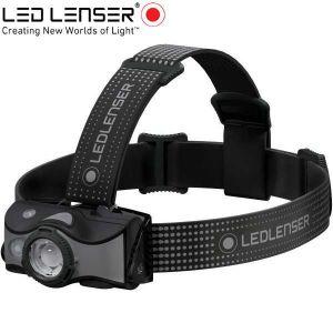 Led Lenser MH7 outdoor tölthető LED fejlámpa 600lm szürke