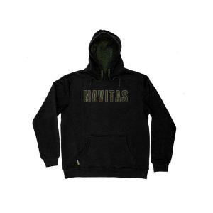 Navitas Infil Hoody - fekete kapucnis pulóver