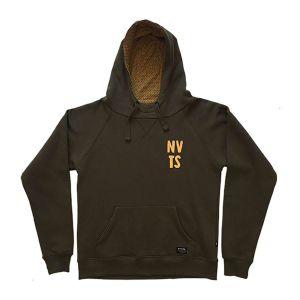 Navitas NVTS Hemlock zöld kapucnis pulóver