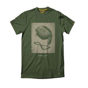 Navitas Stannart Shadow zöld halas póló