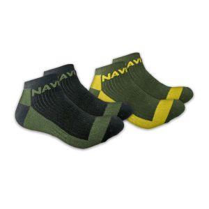 Navitas Coolmax Crew Twin Pack rövidszárú zokni (2 pár)