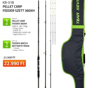 Nevis Pellet Carp Feeder szett 360XH 1859-361+ 5291-135 (KB-