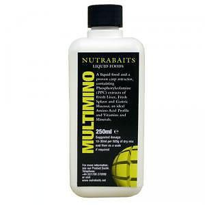 Nutrabaits Multimino - Amino adalék 250 ml