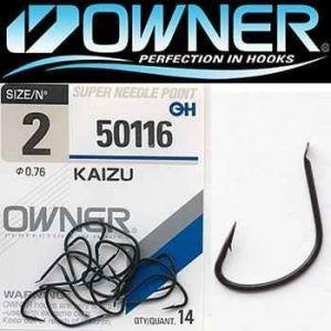 Owner Kaizu Black pontyozó horog