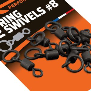 ROK RING Swivels - Karikás forgó - 12 darab/csomag