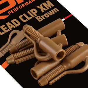 ROK Lead Clip XM - ólomkapocs - 10 darab/csomag