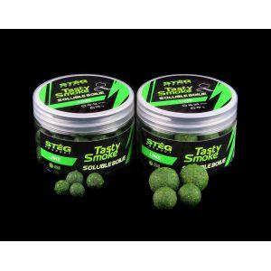 Stég Smoke Soluble Boilie 10-12mm Lime 70gr