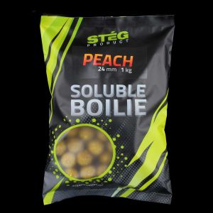 Stég Product Soluble Bojli 24mm Peach 1kg